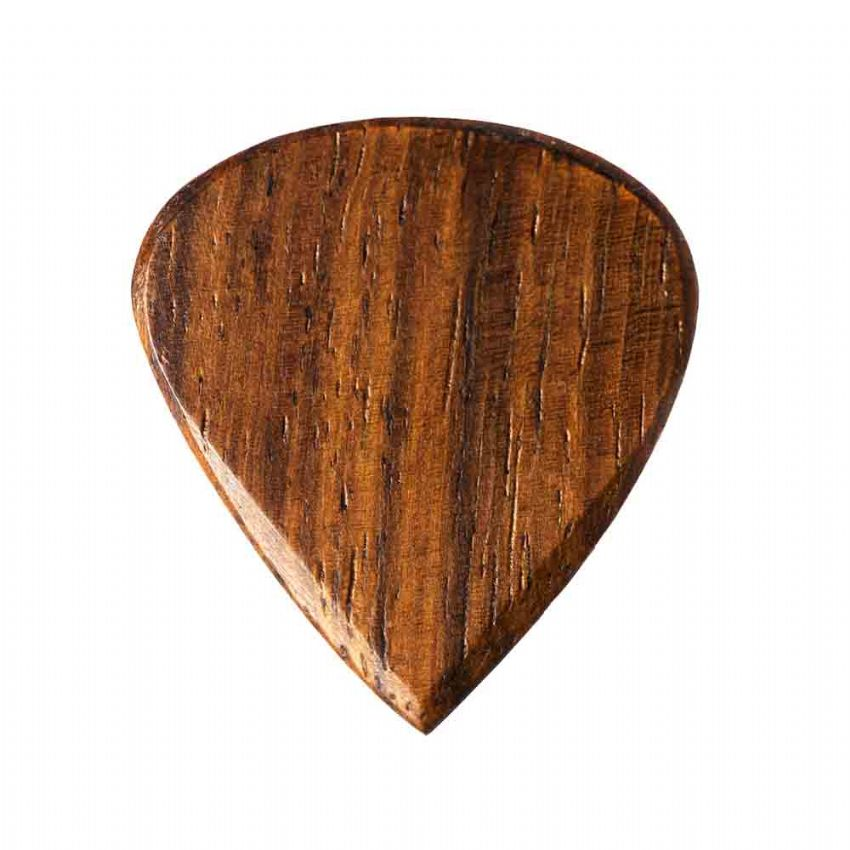 Blues Tones - Teak - 1 Guitar Pick | Timber Tones